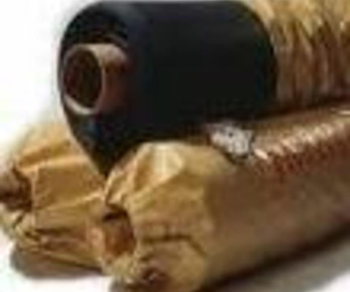 Mantas de caucho butilo EPDM