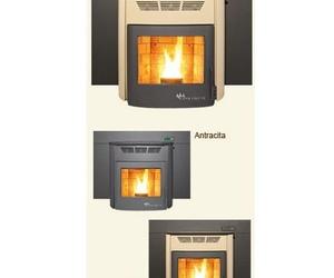 Chimeneas calefactoras de leña y pellets (Biomasa)
