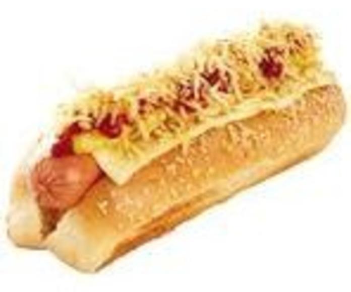 Perrito caliente con queso: Nuestra Carta de Happy Burger