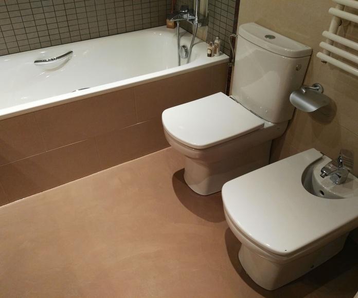 Microcemento MICROQUARZ - Suelo de baño