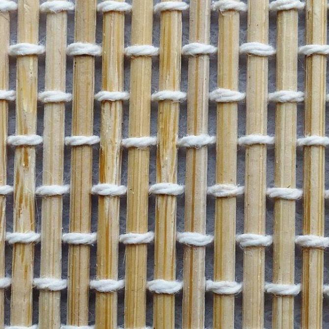 La limpieza de la médula de junco o el bambú