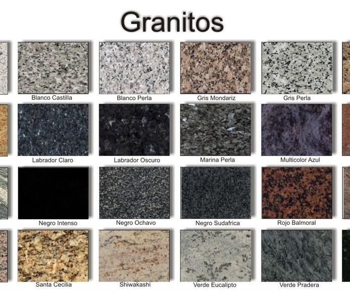 Granitos: Productos y servicios de Mármoles y Granitos Interlap