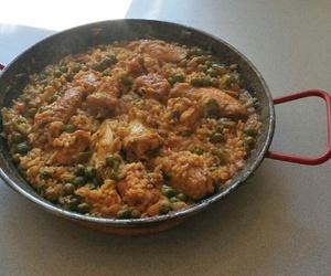 Paella en nuestro menú