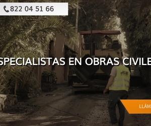 Movimientos de tierra en Tenerife | JGE