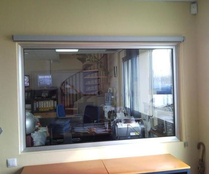 Cortina Stor o Enrollable interior: Productos de Toldos Barcino