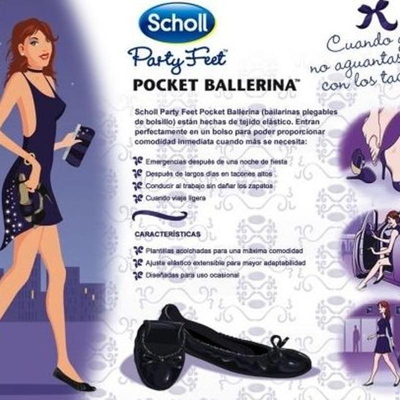 Pocket ballerinas Scholl: Catálogo de Farmacia Las Cuevas-Mª Carmen Leyes