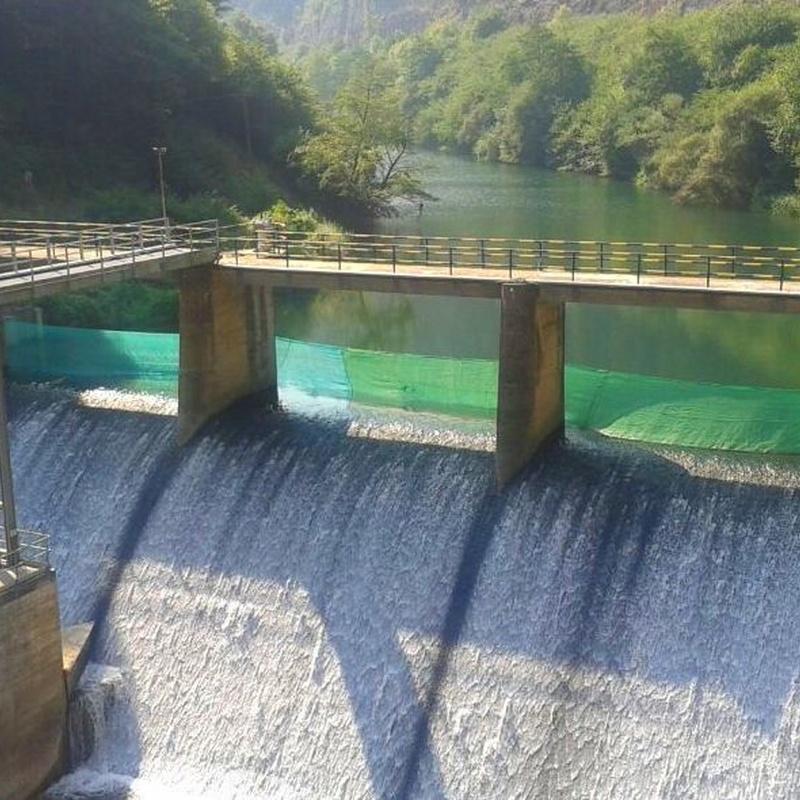Trabajos verticales en embalses, fábricas, industria Cantabria.