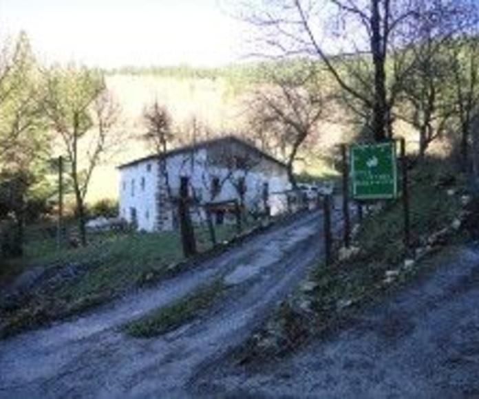 Caserio en Zegama