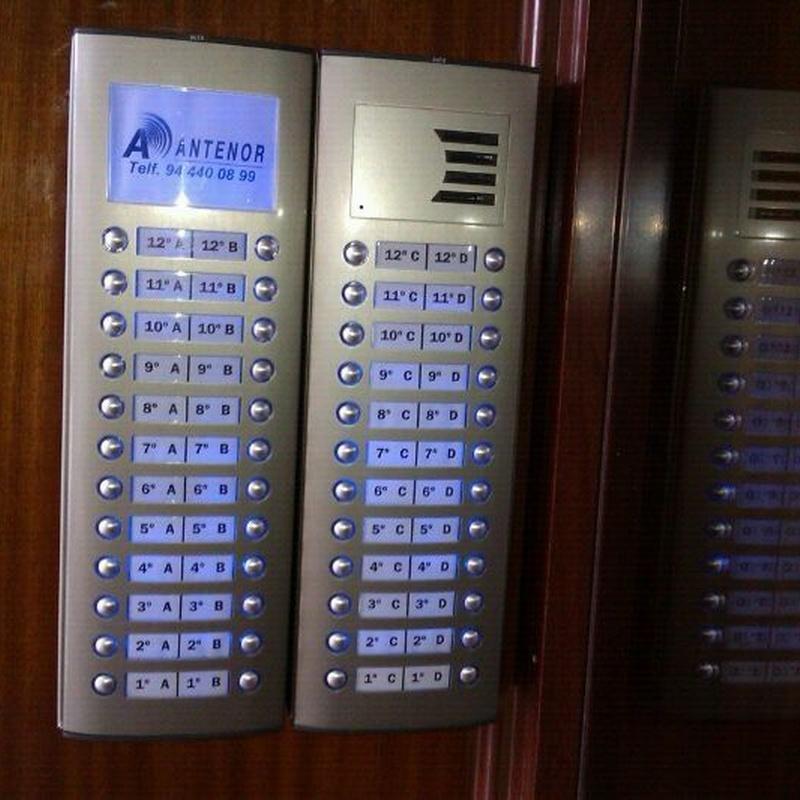 Porteros automáticos: SERVICIOS de Antenor