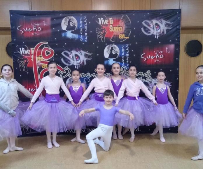 Grupo infantil, Ballet Clasico, Jesuitas Indautxu.