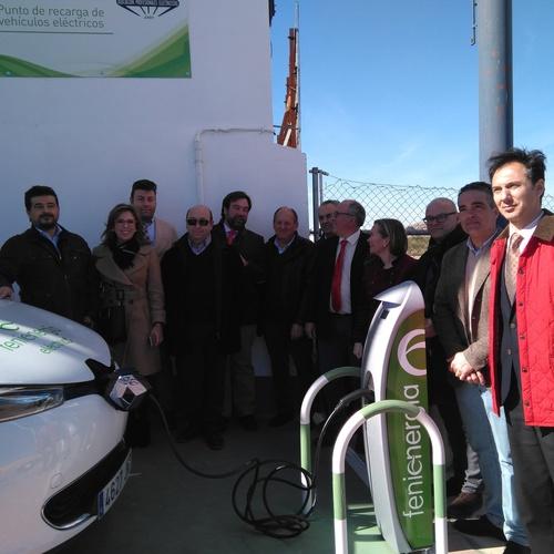 Instalación de puntos de recarga para vehículos eléctricos en Jaén