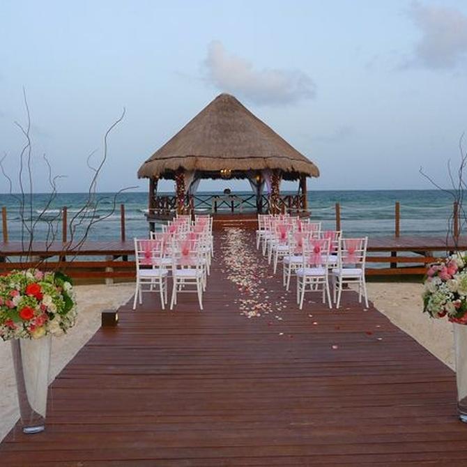 Las bodas en la playa están de moda