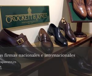 Zapatos de hombre en el barrio de Salamanca Madrid