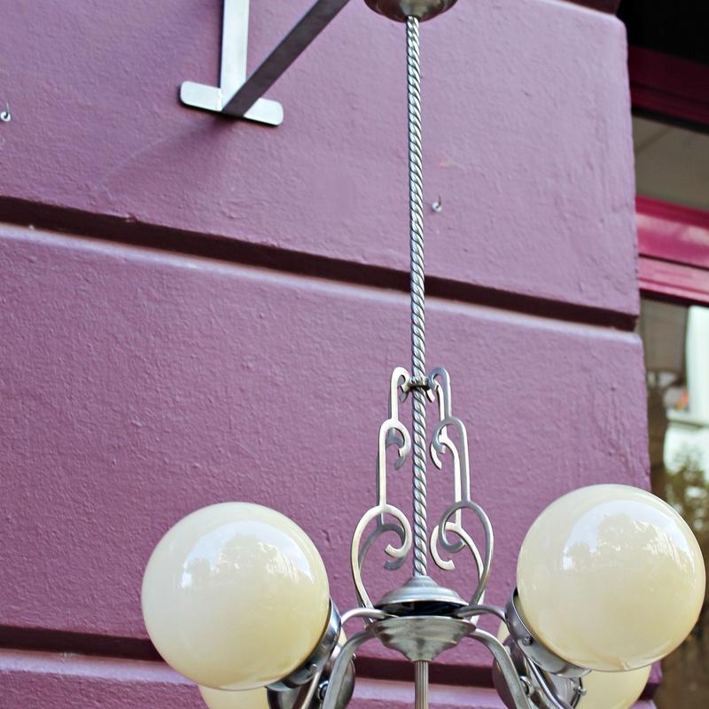 Lámpara modernista restaurada: Artículos  de Ruzafa Vintage
