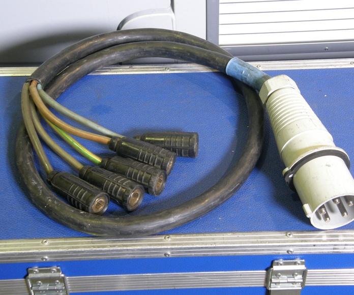Mangas, cables y adaptadores: Material en alquiler de MAP
