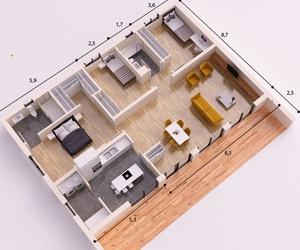 Casa Prefabricada Modelo Valencia en Lleida