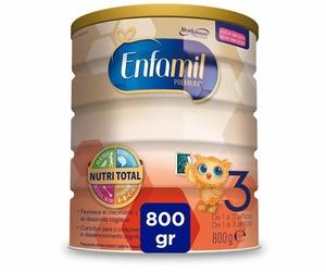 ENFAMIL 3 LECHE CRECIMIENTO 800 GR. PVP : 15,00 €