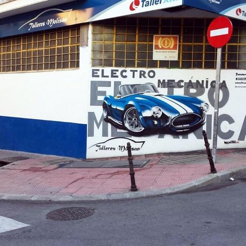 Talleres de coches en Carabanchel, Madrid