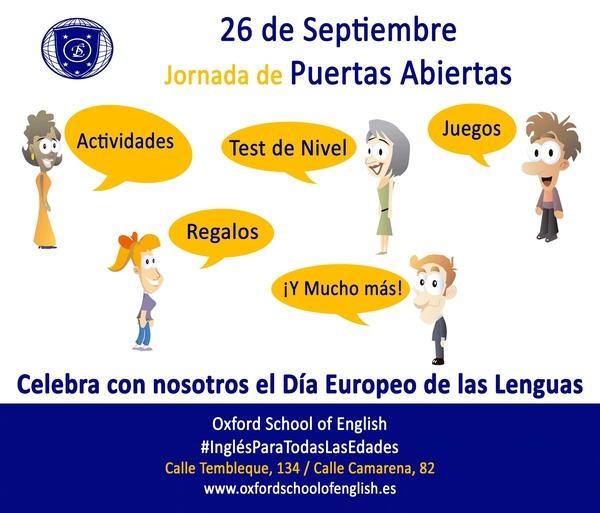 Celebra con nosotros el día de las lenguas
