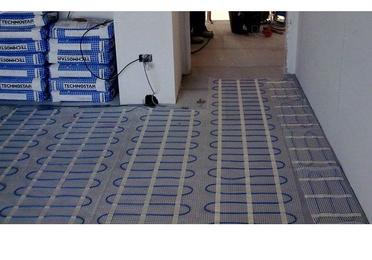 Calefacción de suelo radiante eléctrico