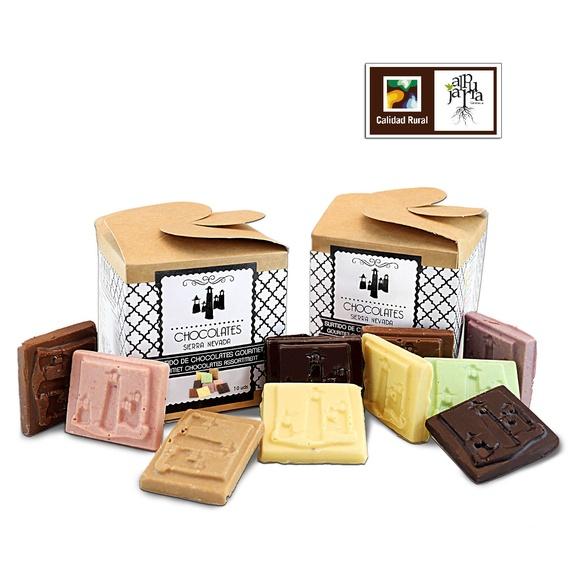 Surtido de chocolates gourmet: Nuestros productos de Chocolates Sierra Nevada