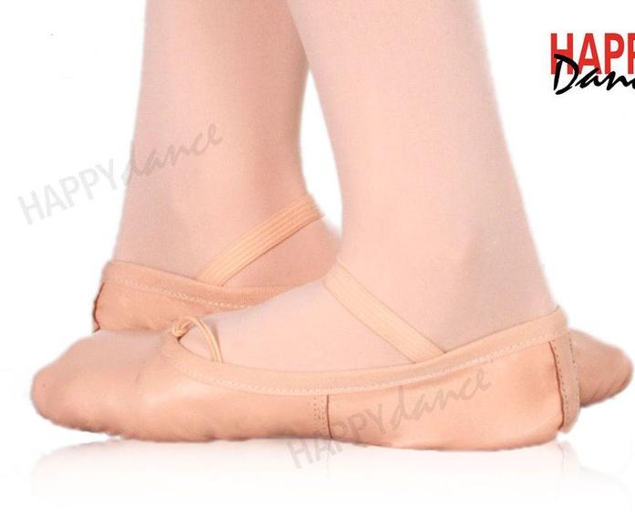 Zapatillas ballet piel suela entera