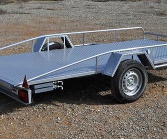 Plataforma basculante coches pequeños: Productos y Servicios  de Remolques JOGE
