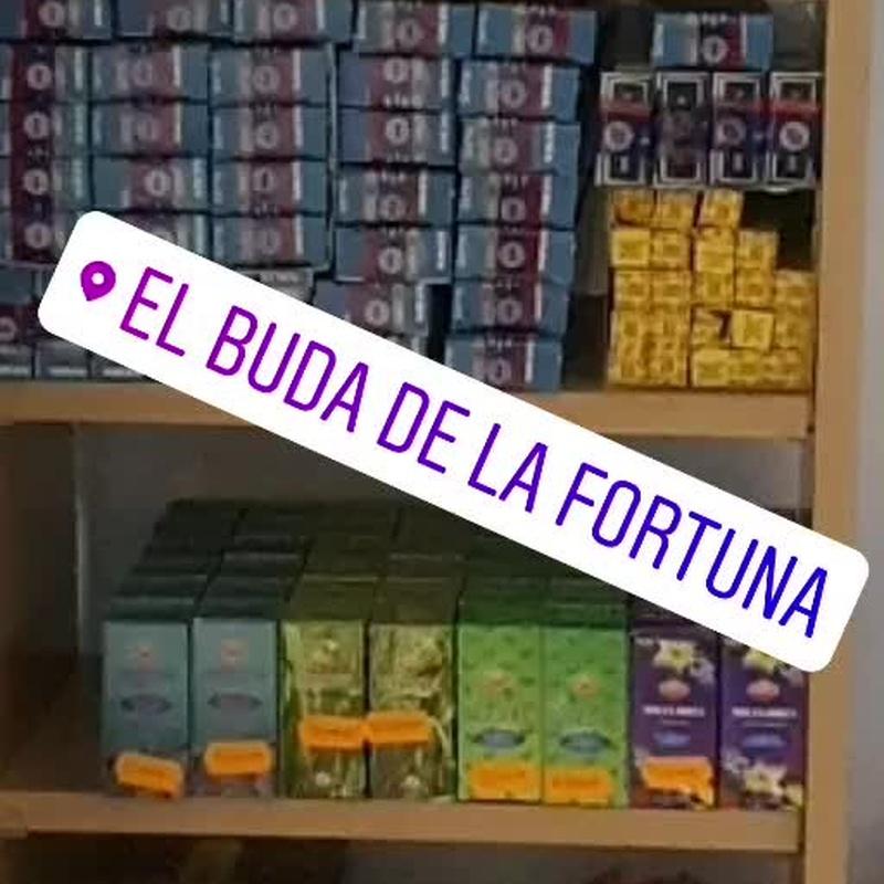 Inciensos, sahumerios y aceites esenciales: Productos y servicios   de El Buda de la Fortuna