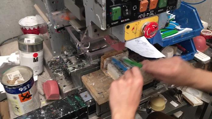 Grabación en tampografia