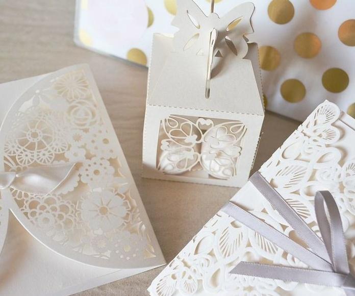 Invitaciones de bodas y comuniones