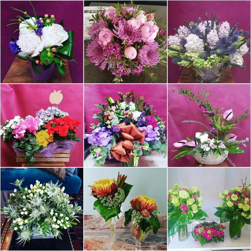 Cestas y centros: Servicios  de Ixora Floristas