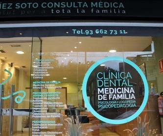 Clínica dental: Servicios de Centro Médico Díez Soto