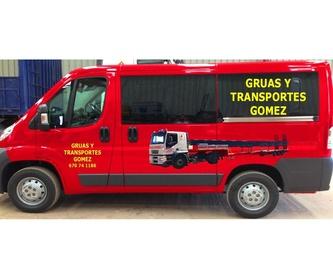 Accesorios para transportes: Equipos a su servicio de Grúas y Transportes Gómez, S.L.
