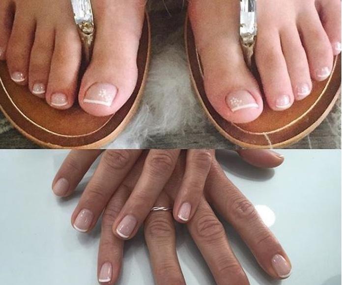 Pedicura y manicura: Servicios de Zaar Estilistas