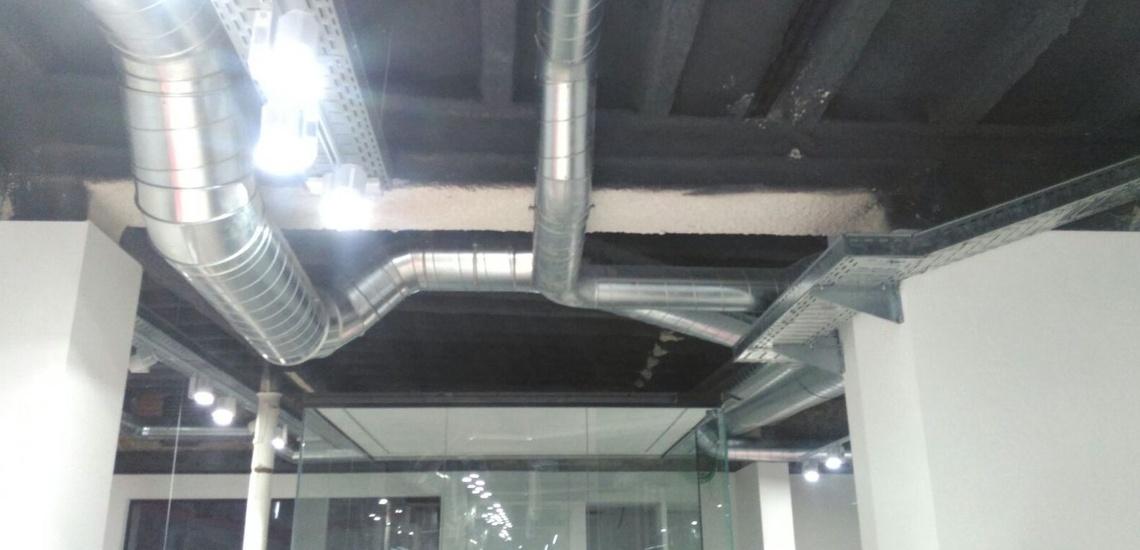 Conductos de fibra de vidrio en Gava