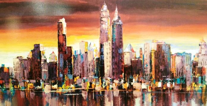 Florio. Sera su New York. (HOR): CATALOGO de Quadrocomio La Casa de los Cuadros desde 1968