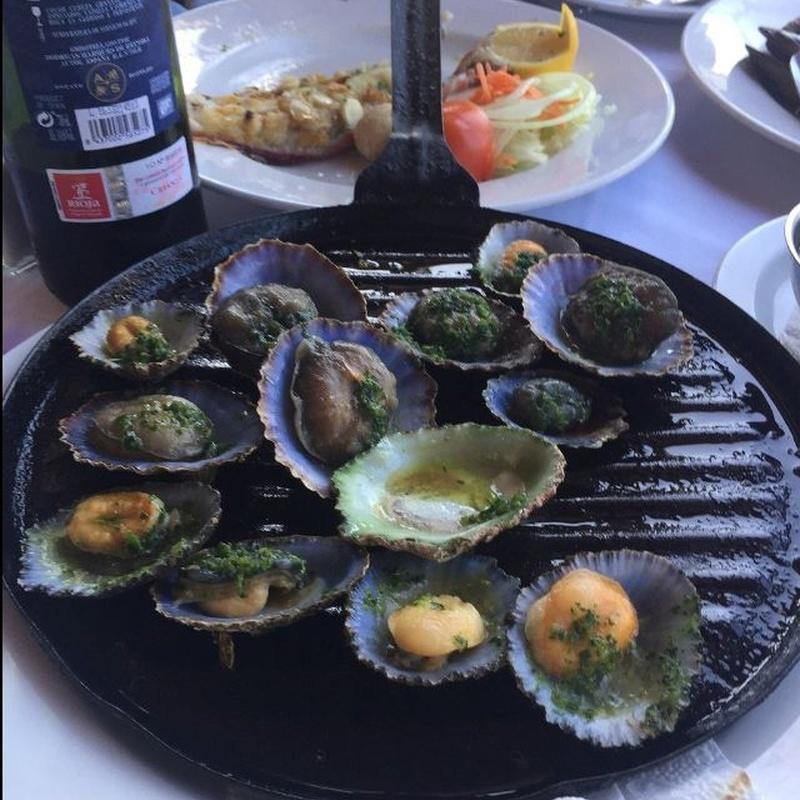 Pescados y mariscos: Carta de Restaurante Isla Bonita