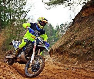 Cuidados especiales de la moto de campo