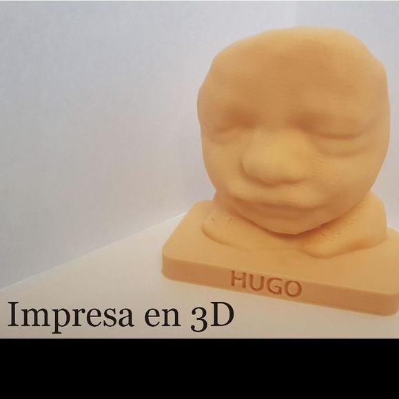 IMPRESION 3D DE ECOGRAFIAS : Servicios  de ECOBABY 4D/5D  Tel.  661 32 12 56