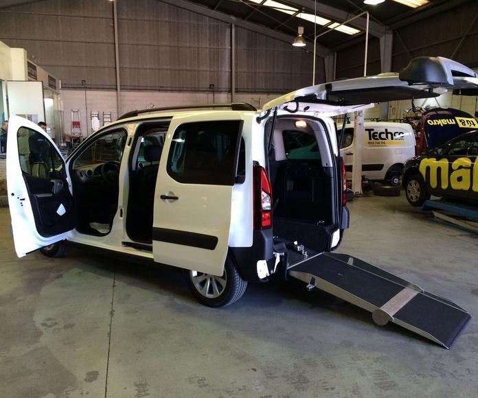 Adaptación de vehículos en Asturias rebaje de piso cajeado