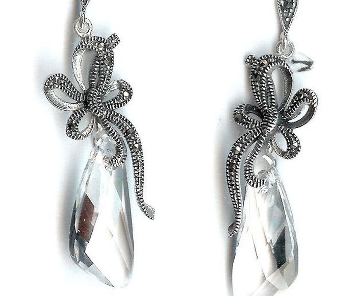 Clásico + cristal de Swarovski.: Catálogo de Antigua Joyeros
