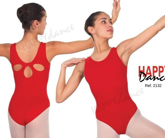 Maillot ballet clásico