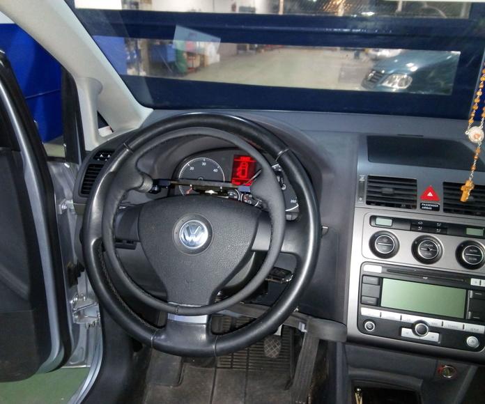 Nueva instalacion de acelerador sobre volante extraible y freno de servicio Guidosimplex