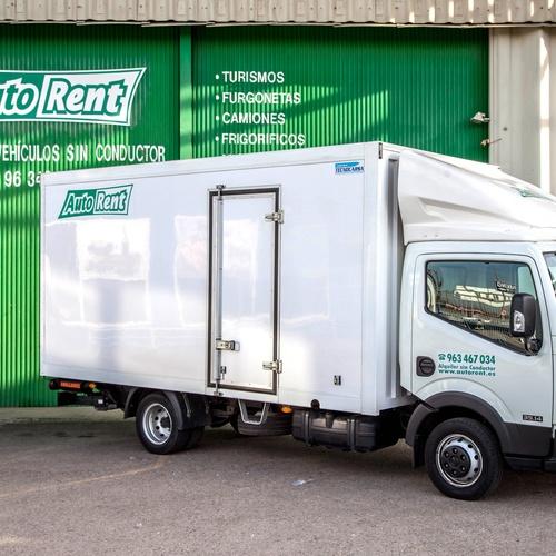 Alquiler de camiones frigoríficos en Valencia