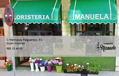 Floristería Manuela sigue abierta