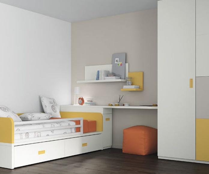 FABRICANTE ROS, camas, compactos ,nidos: Catálogo de muebles y sofás de Goga Muebles & Complementos
