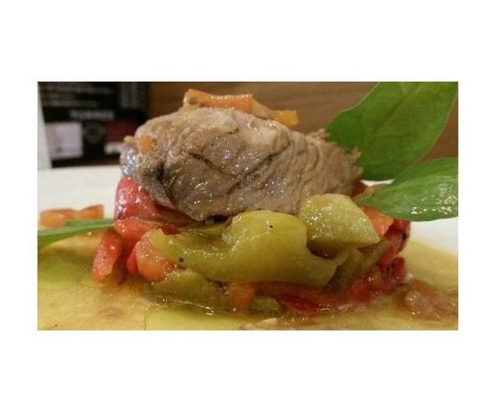 Ensalada de pimientos asados: Nuestros platos de La Tapería de Columela
