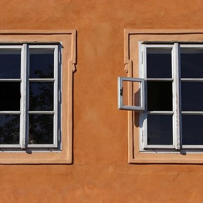 Protégete con ventanas de aluminio