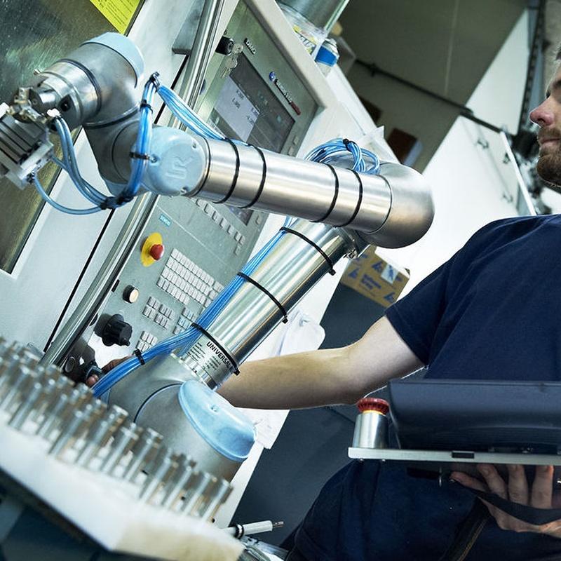 Robótica industrial: Servicios de Electrotécnica de Ochoa, S.L.