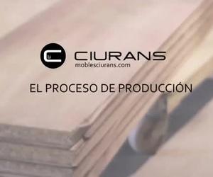 El proceso de producción, segunda parte Manipulación y mecanización - Mobles Ciurans-Mobles La Gavarra La Garriga